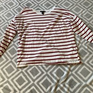 Oversized Striped Long sleeve tee